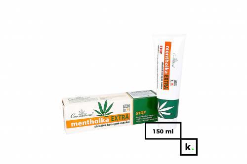 Cannaderm Mentholka Extra żel konopny na bóle mięśniowe - 150 ml