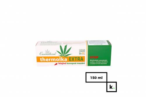 Cannaderm Thermolka Extra żel konopny rozgrzewający - 150 ml