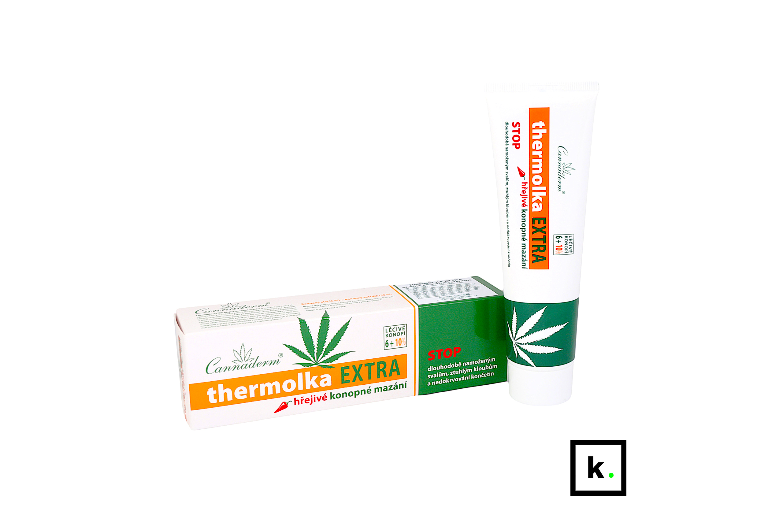 Cannaderm Thermolka Extra żel konopny rozgrzewający - 150 ml