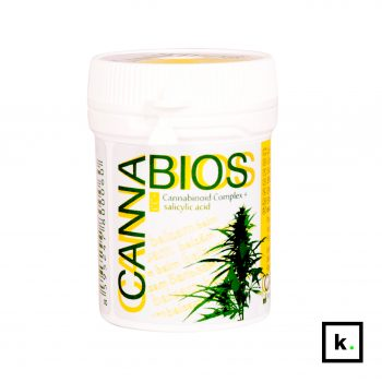 Cannabios balsam konopny bio CBD & kwas salicylowy - 50 ml