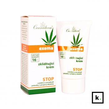Cannaderm Exema konopny łagodzący krem z obniżonym pH 4,7 - 50 g