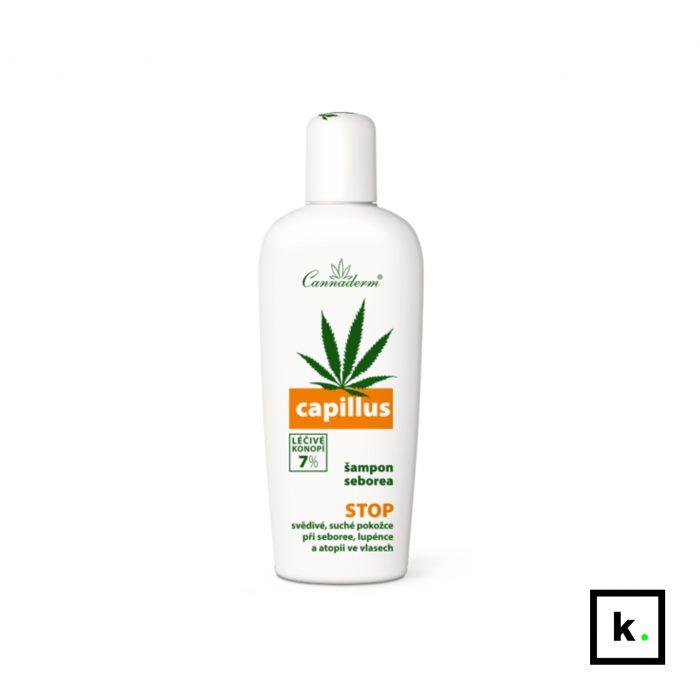 Cannaderm Capillus szampon konopny na problemy łojotokowe - 150 ml