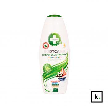 Annabis Bodycann dziecięcy konopny szampon i żel pod prysznic 2w1 - 250 ml