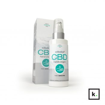 Cibdol krem do rąk z cbd - 100 ml