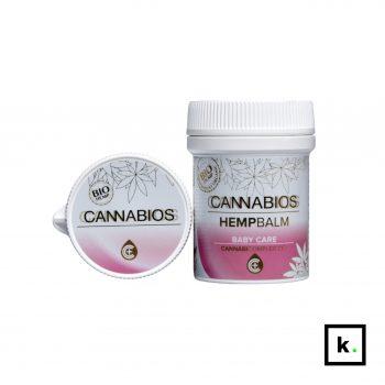 Cannabios balsam konopny bio CBD dla dzieci - 50 ml