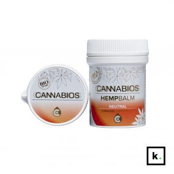 Cannabios balsam konopny bio CBD neutralny bez olejków - 50 ml
