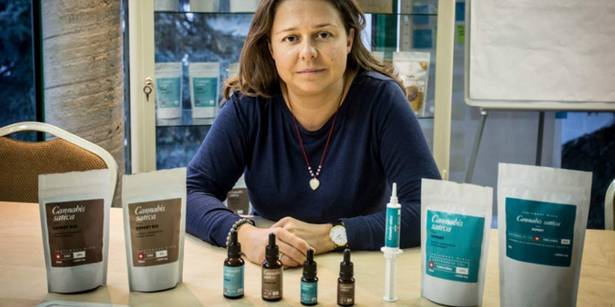Melania Gryt olejki Cannabis originals