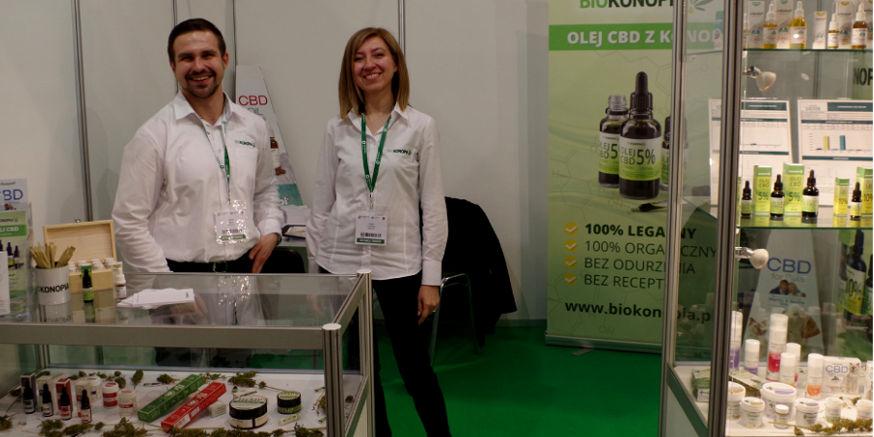 Biokonopia na targach zdrowej żywności