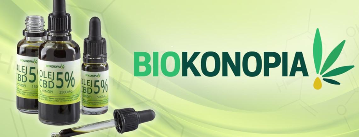 Biokonopia najlepsze olejki CBD