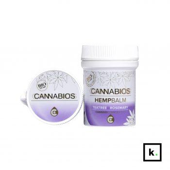 Cannabios balsam konopny bio CBD & olejek z drzewa herbacianego i rozmaryn - 50 ml