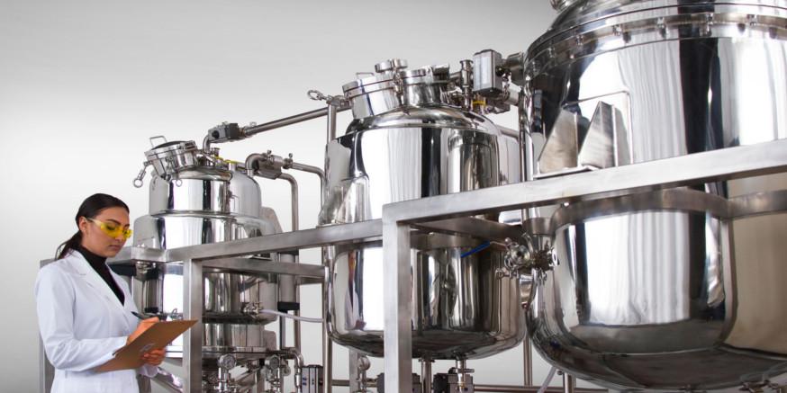 Produkcja oleju CBD metodą ekstrakcji co2