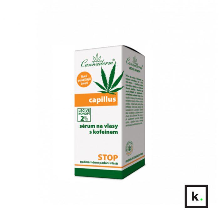 Cannaderm Capillus serum z konopi do włosów z kofeiną - 40 ml