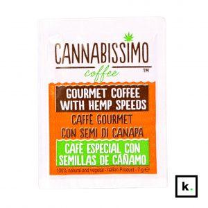 Cannabissimo Coffee kawa konopna mielona saszetka - 7 g