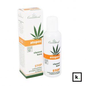 Cannaderm Atopos konopna kuracja do włosów - 100 ml