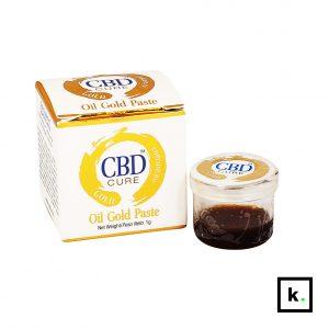 CBD Cure złota pasta CBD