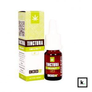 Nalewka CBDex Tinctura CBD Imunit