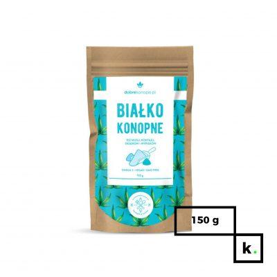 Dobre Konopie białko konopne - 150 g