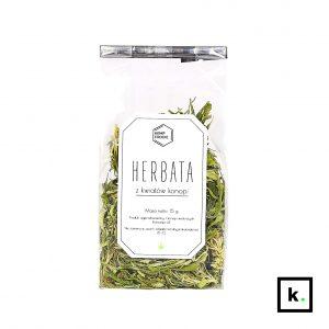 HempFoodie herbata z kwiatów konopi - 15 g