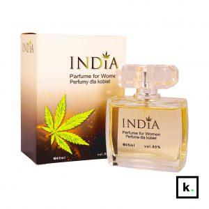 India Cosmetics perfumy o zapachu konopi dla kobiet - 45 ml