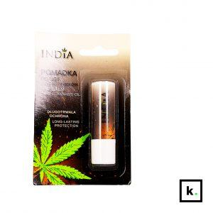 India Cosmetics pomadka do ust z olejem z konopi - 3,8 g