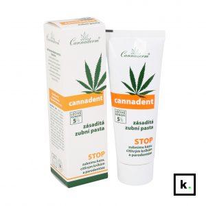 Cannaderm Cannadent konopna pasta do zębów - 75 g