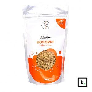 Dobre Konopie białko konopne z błonnikiem - 150 g