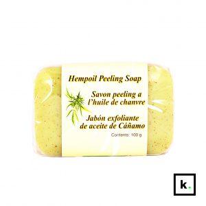 Hanf & Natur mydło konopne z peelingiem - 100 g