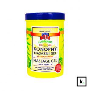 Palacio ziołowo-konopny żel do masażu 5%