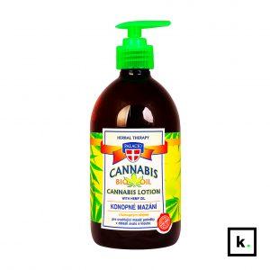 Palacio ziołowy żel do masażu z olejem konopnym 5% - 500 ml